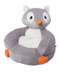 Take a look at this Owl Plush Chair today!