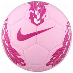 NIKE Pitch Training Ball Pink/Fireberry/3