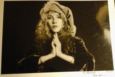 """ Recently listed on Ebay: ""This very rare one-of-a-kind photo of Stevie Nicks taken bt Herbert Worthington in April, 1980 was given to me as a gift to give to Bobby Kennedy Jr in 1984...."