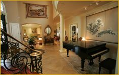 foyer photos homes - Google Search