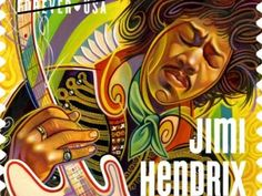 """Jimi Hendrix, the Seattle rock god who turned the National Anthem inside out with his blistering performance of """"The Star-Spangled Banner"""" a..."""