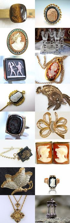 Dreaming of  Rome from  Vintage Vogue Team: Super Roman themed finds from the Vintage Vogue Team  by Susan from https://www.etsy.com/shop/Butterflysue