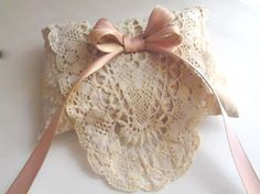 Hmmm, cute clutch, pantyhose bag, fancy soap holder for drawer freshening, or ???