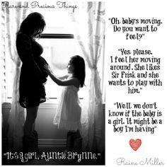 Zara and Auntie Brynne