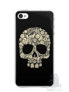 Capa Iphone 4/S Caveira #7 - SmartCases - Acessórios para celulares e tablets :)