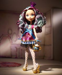 My toys,loves and fashions: Ever After High - Boneca da Madeline Hatter!