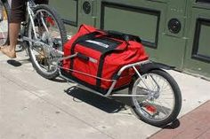 Check out this cool bike trailer.