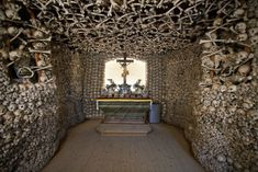 This Creepily Beautiful Chapel in Czermna, Poland, Is Constructed Out of Thousands of Human Bones | Travel | Smithsonian