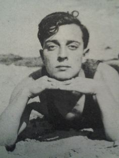 """To Kayo Regards Buster Keaton"" - Autographed photo of Buster Keaton -- Trying not be jealous of the recipient of this photo. Silent Film Stars, Movie Stars, Classic Hollywood, Old Hollywood, Buster Keaton, Joseph Frank, Hooray For Hollywood, Portraits, Portrait Shots"