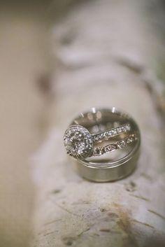 #rings  Photography: Kate Preftakes Photography - preftakesphoto.com  Read More: http://www.stylemepretty.com/2014/01/30/elegant-lakeside-wedding-at-mills-falls/