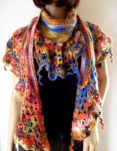 Schmuck Design, Form, Plaid Scarf, Fashion, Hot Pink Fashion, Scarf Crochet, Hair Jewelry, Wool, Moda