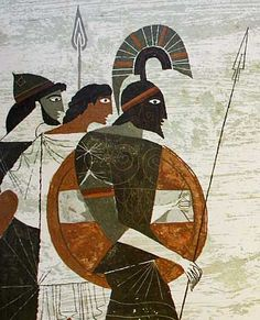 by Alice and Martin Provensen from The Iliad and the Odyssey.