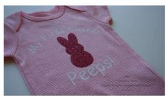 My First Easter Easter Peeps My 1st Easter by PaperKraftsUnlimited