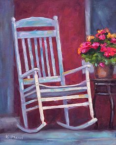 Rocking Chair on the Porch