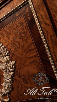 """We bring the loveliness of woodwork into your most precious memories and spaces."" | Alı Tırlı Interıors Furnıture  #alitirli #marquetry #qatar #architecture #homedecor #mimarlik #livingroomdecor #eloymasi #home #unique #textiles #ahsab #florya #wood #homeinterior #interiors #classic #furniture #dekorasyon #clarkeandclarke #mobilya #perde #lifestyleblogger #holiday #holidaydecor #decorative #art #luxury #interiorsdesign #turkey"