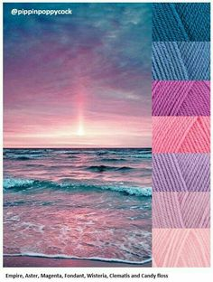 COLOR PALETTE ~ DUSKY SUNSET TONES ~~*~~