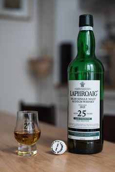 Laphroaig 25 years  Islay Single Malt #Whisky