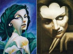 Octavio Ocampo 01 Salvador Dali, Joker, Fictional Characters, Art, Art Background, Kunst, Gcse Art, Fantasy Characters, The Joker