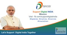 #‎Support‬ ‪#‎DigitalIndia‬ Mission & Go Green with Us... : : ‪#‎PanacheGreen‬ Like to Request your all friends & Followers to Support Digital India.... See More