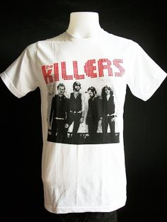 Hey, I found this really awesome Etsy listing at http://www.etsy.com/listing/122954723/the-killers-women-t-shirt-indie-rock
