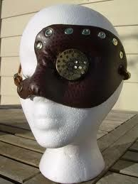 Steampunk eye patch, tells how she made it, so you can make one too! Post Apocalyptic Clothing, Peter And Wendy, Wasteland Weekend, Character Costumes, Steampunk Diy, Headgear, Punk Fashion, Creative Inspiration, Eye Patches