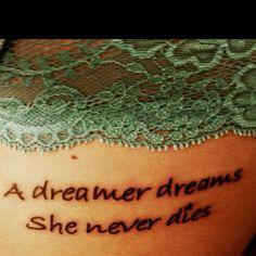 Side tattoo