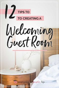 We are blessed to have a guest room, and over the years, frequent overnight guests. Having a guest room can be a wonderful way to show hospitality! 12 tips to make it especially welcoming. Basement Guest Rooms, Small Guest Rooms, Guest Room Decor, Guest Bedrooms, Home Decor Bedroom, Bedroom Ideas, House Guest Gifts, Love Your Home, Home Upgrades
