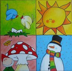 Leuke kaarten seizoenen