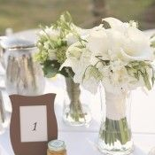 White-and-Green-Hydrangea-and-Calla-Lilly-Bouquet - Elizabeth Anne Designs: The Wedding Blog