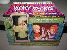 Hasbro 1968 Kooky Spooky vintage glow in dark ghost monster GRANDMA MACREAK  | eBay