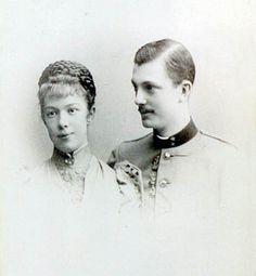 Marie Valerie und Franz Salvator engagement photo 1890