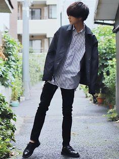 冬コーデ特集!メンズ20代〜後半のファッション【保存版】 Casual School Outfits, Chill Outfits, Stylish Outfits, Boy Outfits, Korean Fashion Men, Mens Fashion, Pop Fashion, Fashion Outfits, Korea Dress