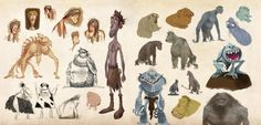 croods concept art - 9