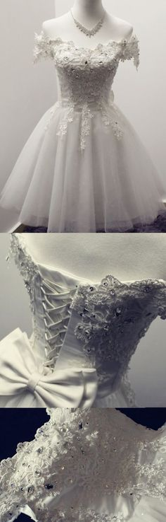 Beaded/Beading Prom Dresses, Ivory A-line/Princess Homecoming Dresses, Short Ivory Party Dresses, 2017 Homecoming Dress Ivory Lace-up Short Prom Dress Party Dress Wite Prom Dresses, Homecoming Dresses 2017, Princess Prom Dresses, A Line Prom Dresses, Cheap Prom Dresses, Prom Party Dresses, Short Dresses, Dress Party, Lace Dresses