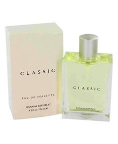 Classic Banana Republic perfume citrus, fresh spicy, white floral, green This is now my favorite fragrance! I can't get enough of it!