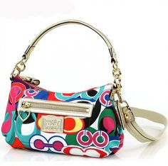 8de191f22a Women s Cross-Body Handbags - COACH Poppy Daisy Signature C Crossbody  Groovy Bag in Gold