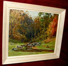 Original Vintage/Antique Oil on Masonite board by ArtDelightful