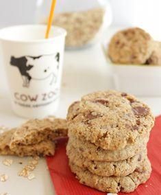 Cookies céréales et chocolat au lait sans beurre