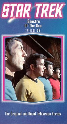 Star Trek - The Original Series Episode 56: Spectre Of The Gun [VHS] @ niftywarehouse.com #NiftyWarehouse #StarTrek #Trekkie #Geek #Nerd #Products