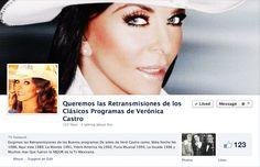 Queremos la retransmisiones de los clásicos programas de Veronica Castro   Pagina Facebook