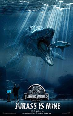 Jurassic World parody poster #JurassicWorld (WTF Watch The Film Saint Pauly)