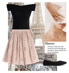 A Walk in Paris by candibyamyh on Polyvore featuring Chicwish and Burberry