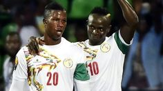 Senegal 2-0 Zimbabwe    Liverpool's Sadio Mane scores as Senegal beat Zimbabwe to become the first team to reach the Africa Cup of Nations quarter-finals.   http://www.bbc.co.uk/sport/football/38591907