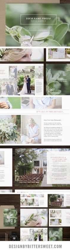 You can choose to send this studio welcome magazine over to clients digitally, or impress them with in-person-sales by handing over a printed copy of your magazine. They will love seeing your work in print. It gives them something beautiful to take home at the end of a client meeting. Who wouldn't want a magazine full of gorgeous images to flip through? 26 pages of professionally written content. Complete with about page, FAQ's, style and session tips and much more. Images by…