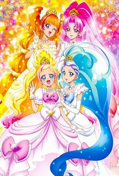 Go Princess Precure Kirara Pretty Cure, Pretty And Cute, Anime Life, All Anime, Anime Art, Hokusai, Kirara, Glitter Force, Anime Kawaii