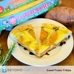 Caramelized Onion and Sweet Potato Frittata - Whether you eat it for ...