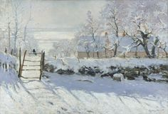 The Magpie Claude Monet 1869  The Magpie is considered one of Monet's best snowscapes out of the 140 he produced. He created the Magpie during the winter of 1868–1869 near the commune of Étretat in Normandy.