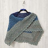Ravelry: Frozen Waves Shawl pattern by Amanda Fix