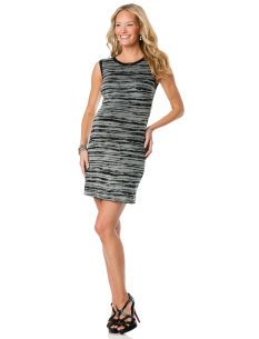 Nicole Miller Sleeveless Straight Fit Maternity Dress