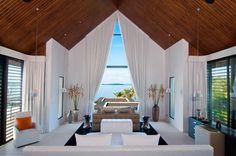 World of Architecture: Fresh and Exotic Contemporary Villa Design Villa Design, House Design, Modern Interior Design, Interior Design Inspiration, Design Ideas, Diy Interior, Waterfront Homes, Modern Luxury, Interior Architecture